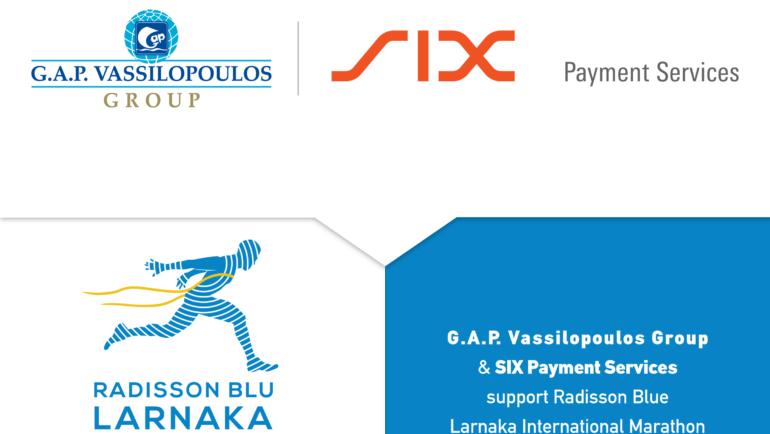 Ο Όμιλος G.A.P. Vassilopoulos για δεύτερη συνεχή χρονιά στηρίζει τον Radisson Blu Διεθνή Μαραθώνιο Λάρνακας