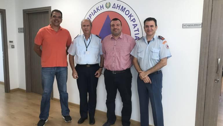 Στο πλευρό του Radisson Blu Larnaka International Marathon και φέτος η Πολιτική Άμυνα
