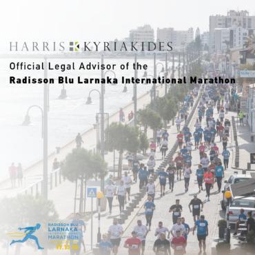 Harris Kyriakides LLC is the official legal representative of the Radisson Blu Larnaka International Marathon